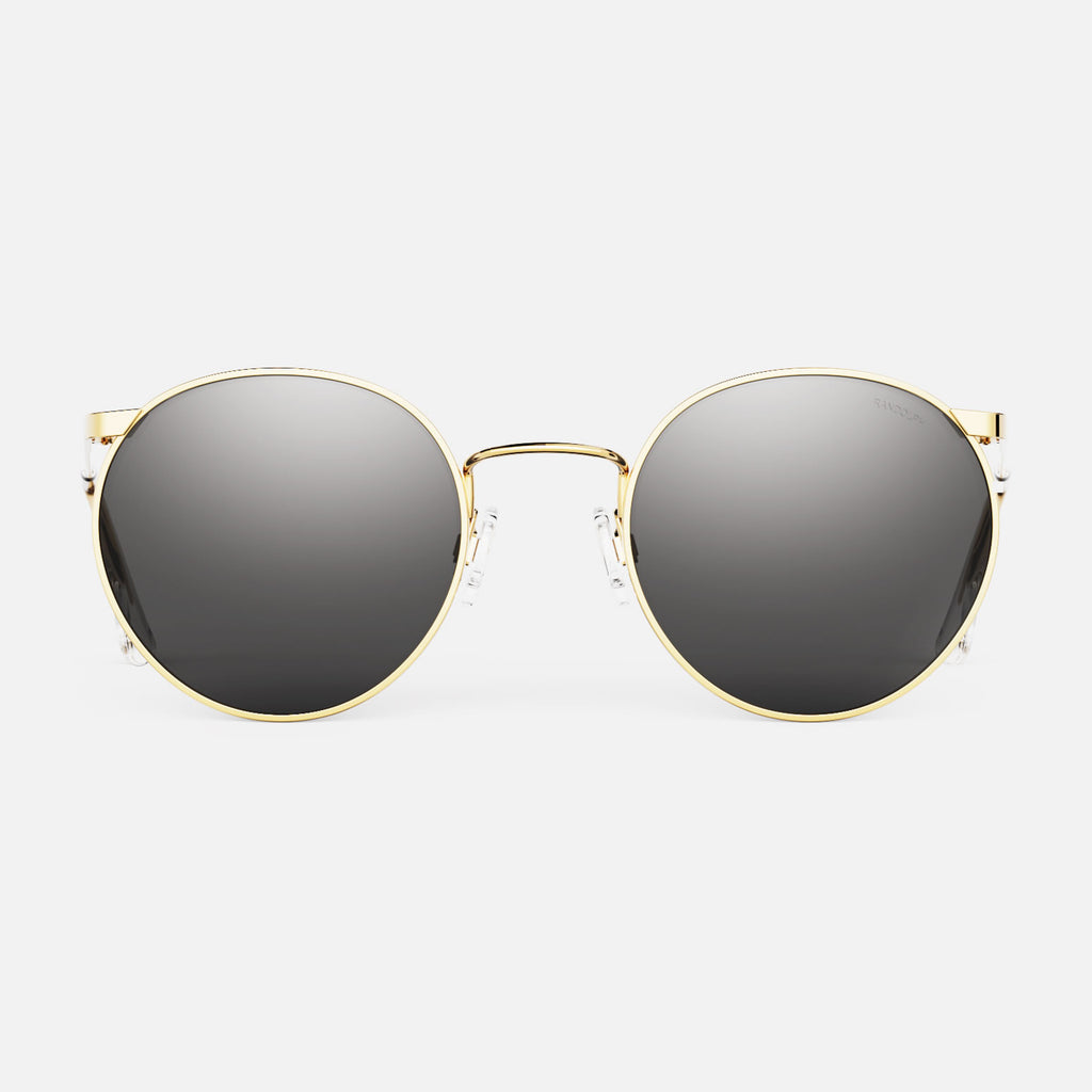 23k Gold & American Gray Non-Polarized Glass Lens