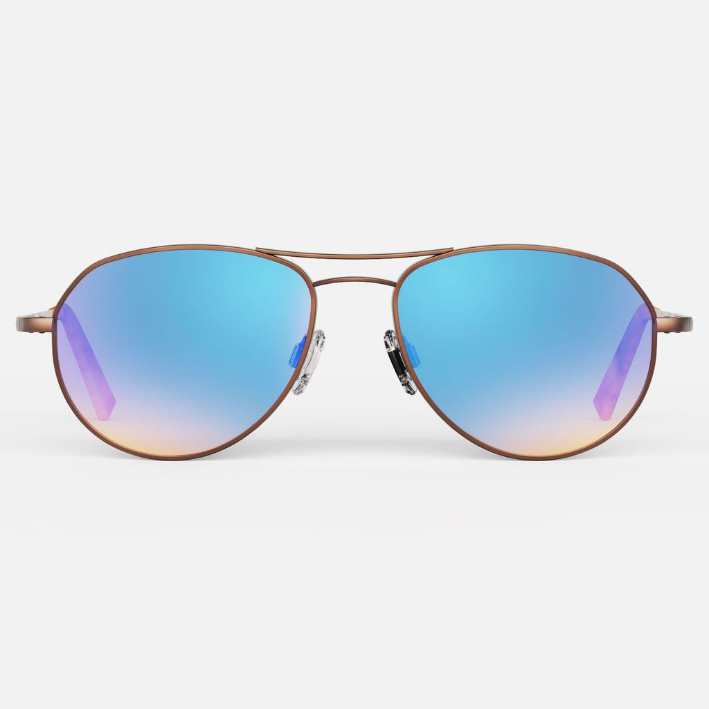 22k Satin Chocolate Gold & Northern Lights Polarized Gradient Lite Lens