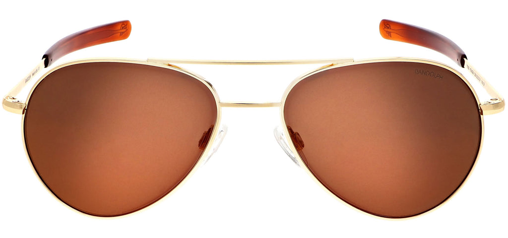23k Gold & Autumn Sunset Polarized Mirror Lite Lens