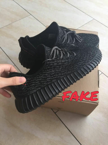 Fake yeezy boost 350 pirate black