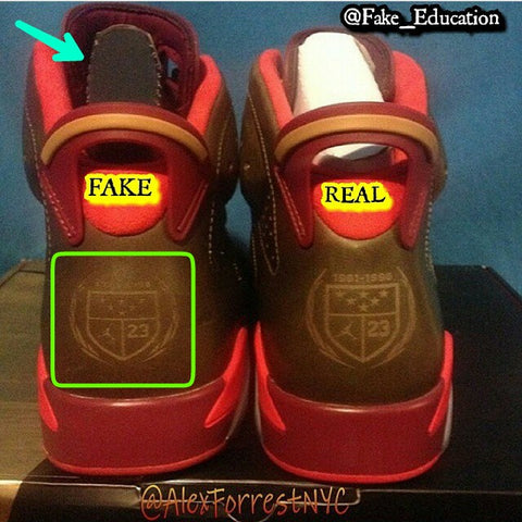 65b13dc9430 Real vs Fake Jordan 6 Cigar – KicksOnABudget