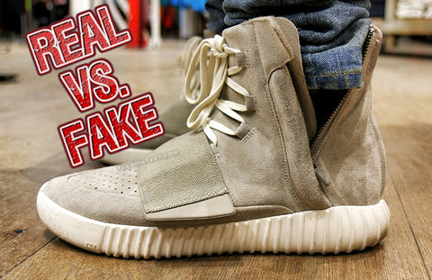 huge selection of d8f18 3fe8e Real VS Fake Yeezy 750 Boost UPDATED