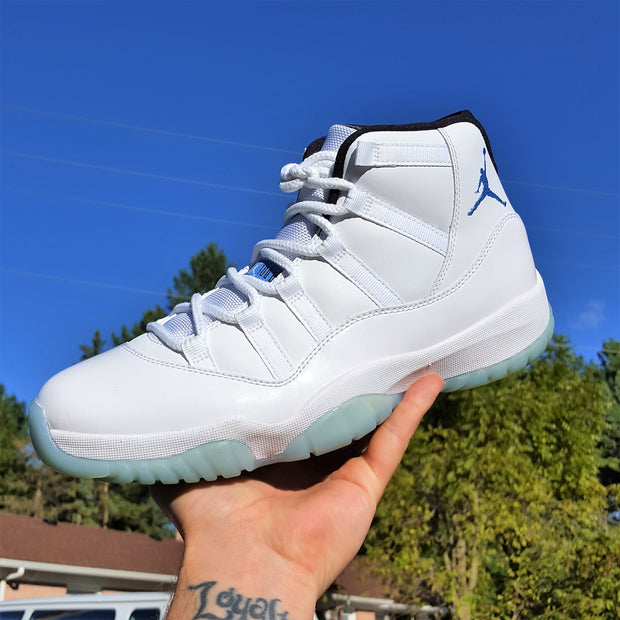 "Jordan 11 ""Legend Blue"" - KicksOnABudget"
