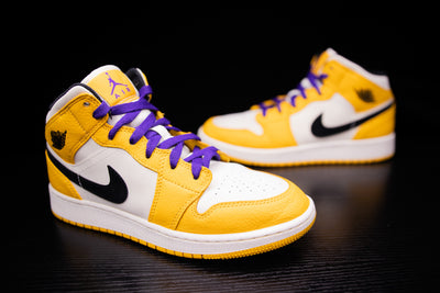 Jordan 1 Mid Lakers (6y)