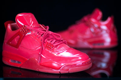 b0928f5b4c70 Jordan 11Lab4 Red (10.5) - KicksOnABudget