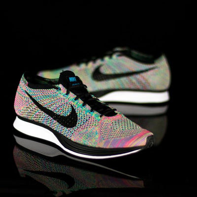 FREE Flyknit Racer Multi Color - KicksOnABudget