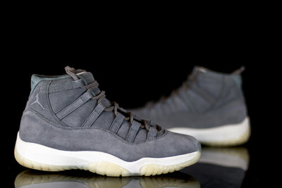 fb9359f703e4 Jordan 11 Retro Pinnacle Grey Suede - KicksOnABudget