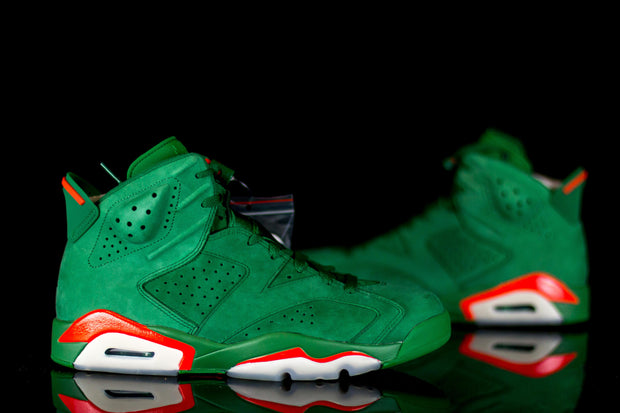 Jordan 6 Retro Gatorade Green - KicksOnABudget