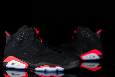 Jordan 6 Retro Infrared Black (2014) - KicksOnABudget