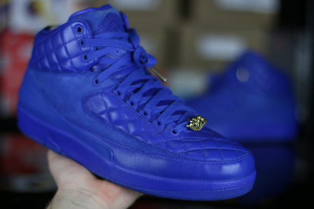 Jordan 2 Retro Just Don Blue - KicksOnABudget