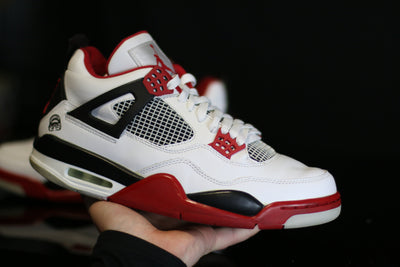 Jordan 4 Retro Fire Red Mars Blackmon - KicksOnABudget