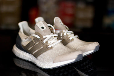 Adidas Ultra Boost Lux Sneakersnstuff x Social Status Vintage White - KicksOnABudget