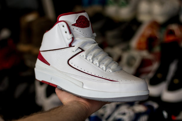 Jordan 2 Retro White Red (2014) - KicksOnABudget