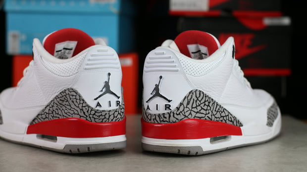 Jordan 3 Retro Hall of Fame (9.5) - KicksOnABudget
