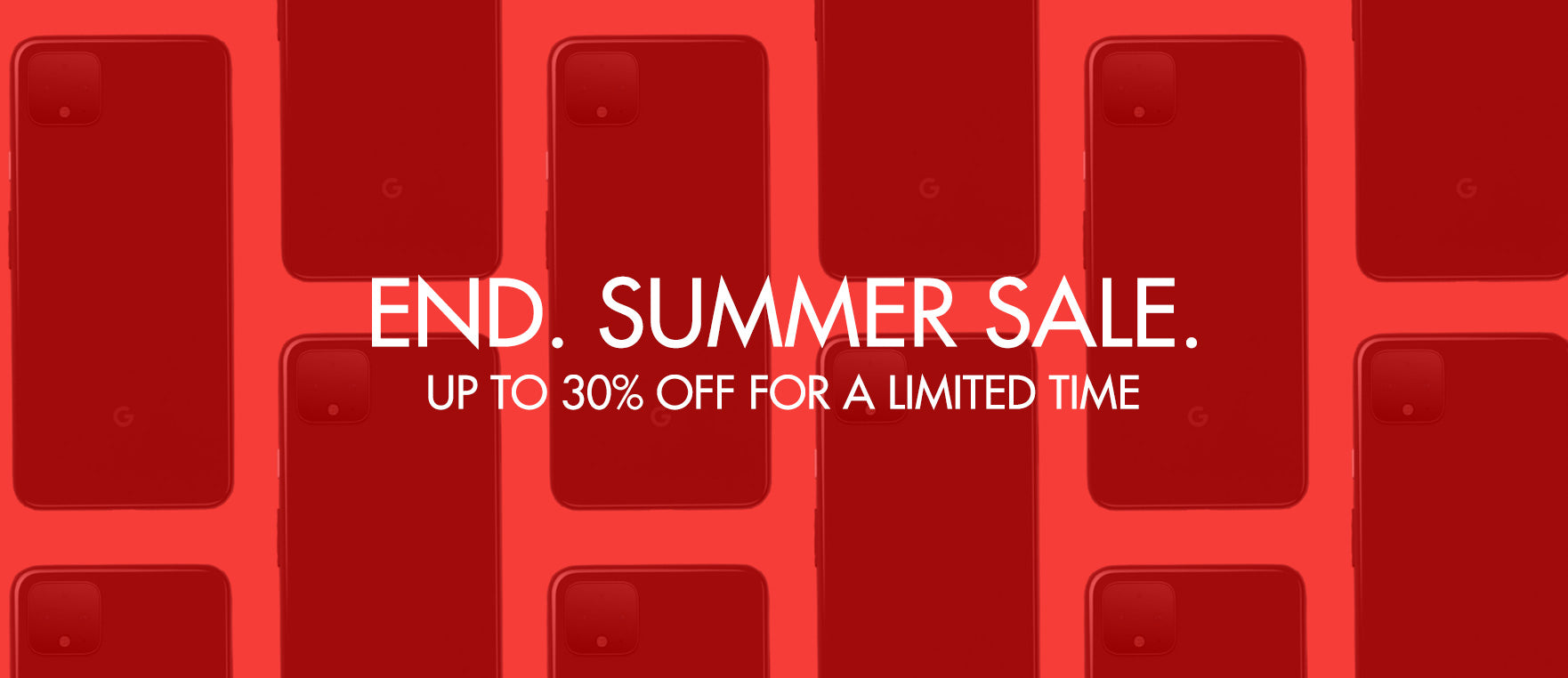 Omerta End of Summer Sale - Up to 30% off selected handsets.