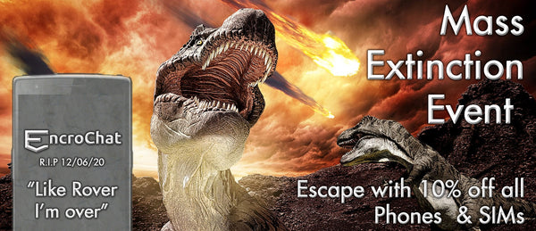 Dodged the Mass Extinction Event? Celebrate with 10% off!
