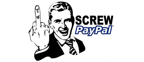 PayPal presently not accepted