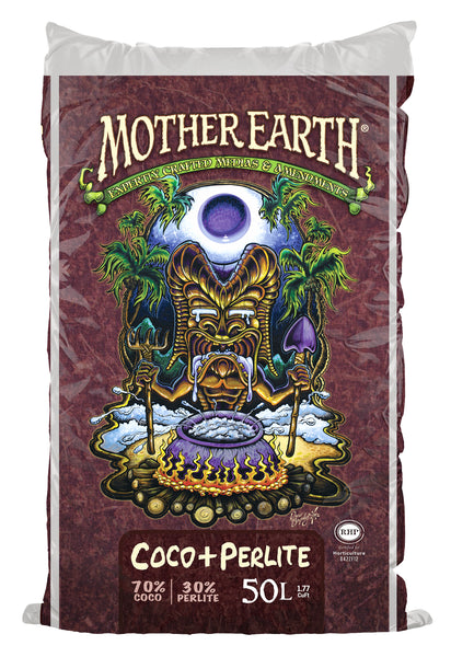 Mother Earth Coco + Perlite mix 1.75 Cu Ft (67 Plt) - AllUNeedGardenSupply