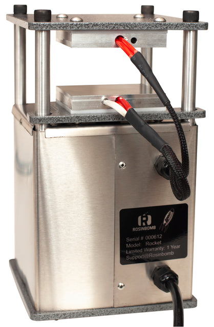 Rosinbomb™ Rocket Electric Heat Press