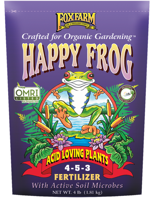 Fox Farm HAPPY FROG® ACID LOVING PLANTS FERTILIZER - AllUNeedGardenSupply