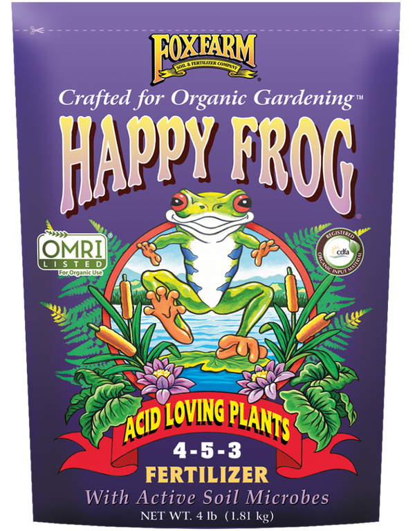 Fox Farm HAPPY FROG® ACID LOVING PLANTS FERTILIZER