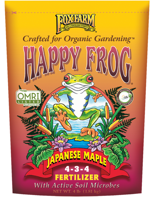 Fox Farm HAPPY FROG® JAPANESE MAPLE FERTILIZER - AllUNeedGardenSupply