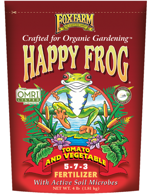 Fox Farm HAPPY FROG® TOMATO & VEGETABLE FERTILIZER - AllUNeedGardenSupply