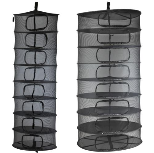 Growers Edge Dry Rack Enclosed w/ Zipper Opening - 2 ft - AllUNeedGardenSupply