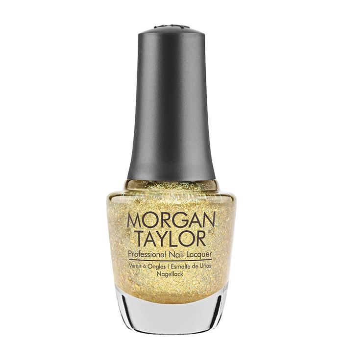 Morgan Taylor Nail Polish Ice Cold Gold (15ml)