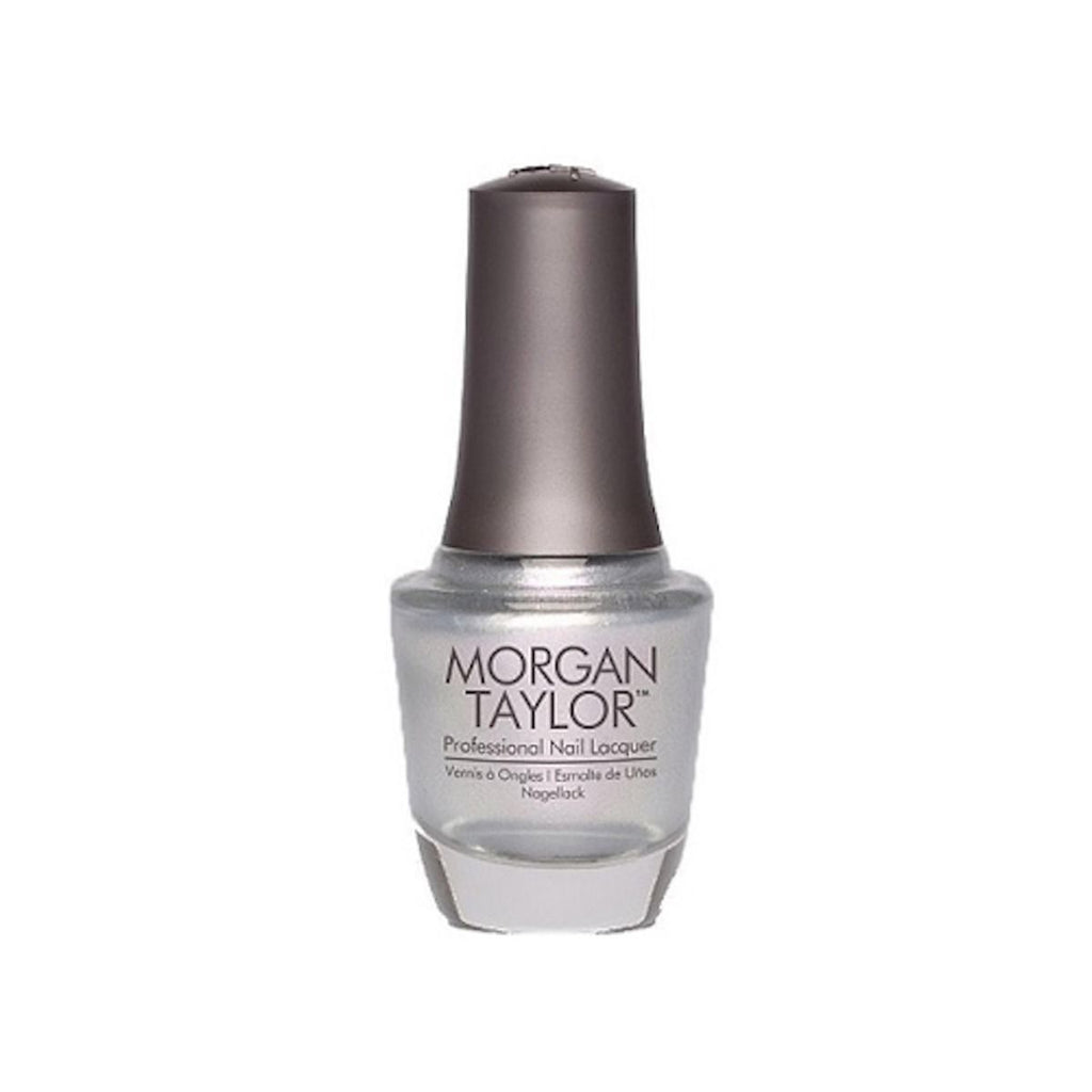 Morgan Taylor Nail Polish Oh Snap, It's Silver 15ml