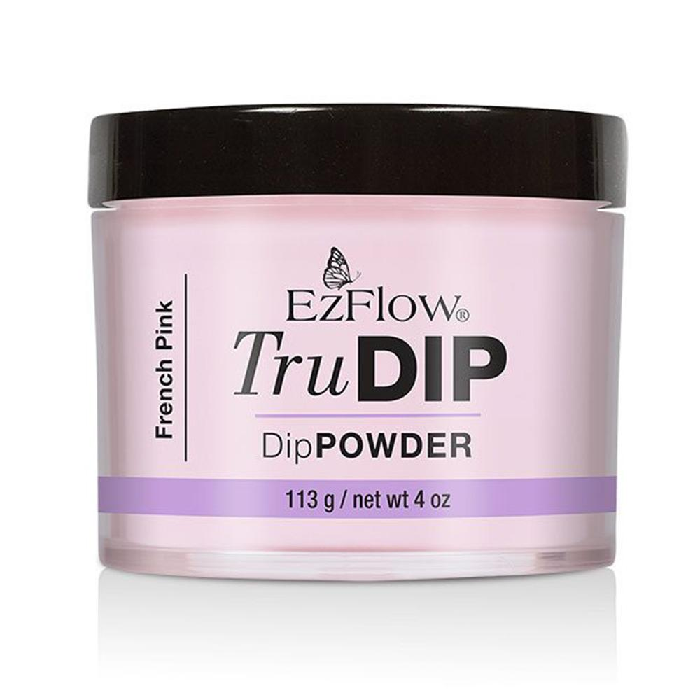 EzFlow TruDip Nail Dipping Powder - French Pink (113g)