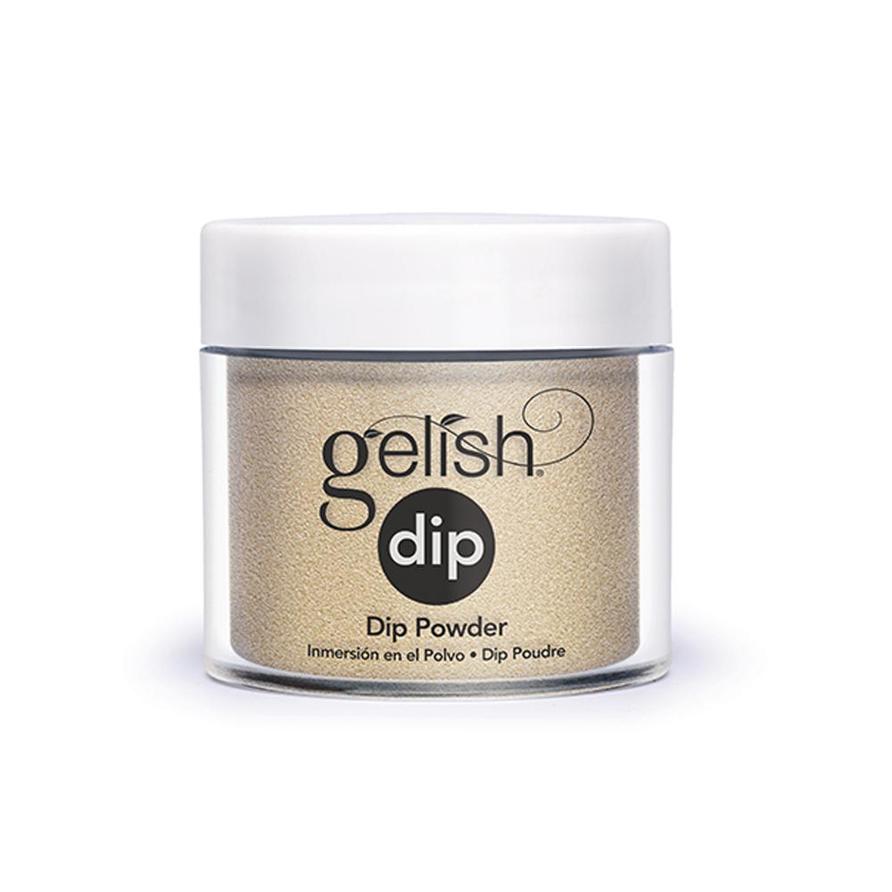 Gelish Dip Powder Gilded In Gold (23g)
