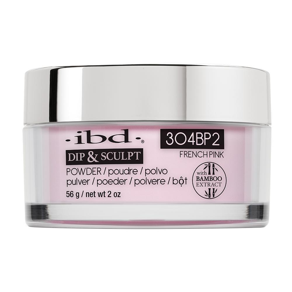 IBD French Dip & Sculpt Powder - French Pink (56g)