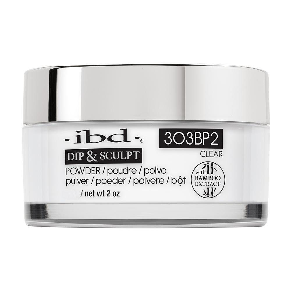 IBD French Dip & Sculpt Powder - Clear (113g)