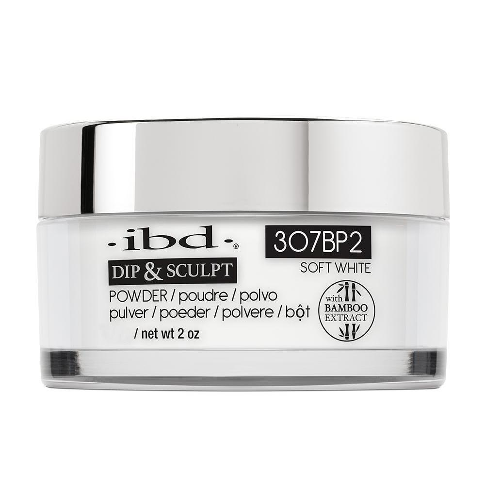 IBD French Dip & Sculpt Powder - Soft White (113g)