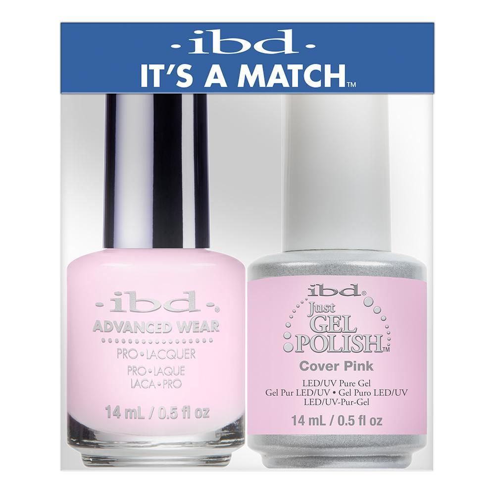 IBD Just Gel & Advanced Wear Duo - Cover Pink (14ml)