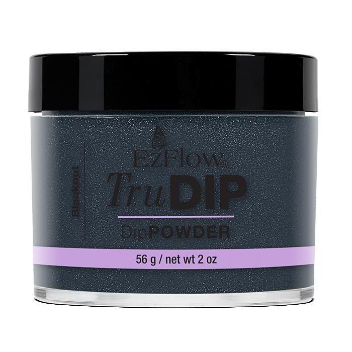 EzFlow TruDip Nail Dipping Powder - Blackout (56g)