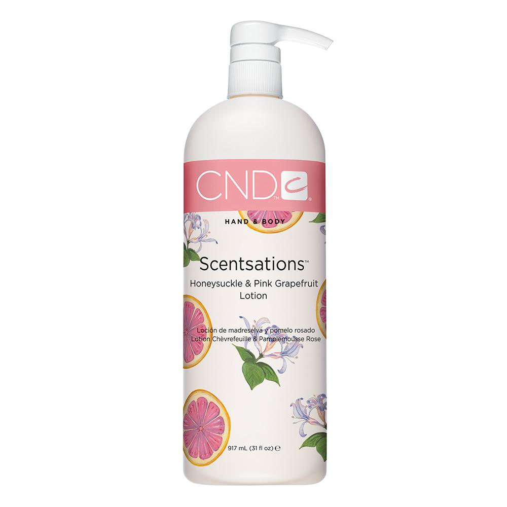 CND Hand & Body Scentsations Lotion - Honeysuckle & Pink Grapefruit (917ml)