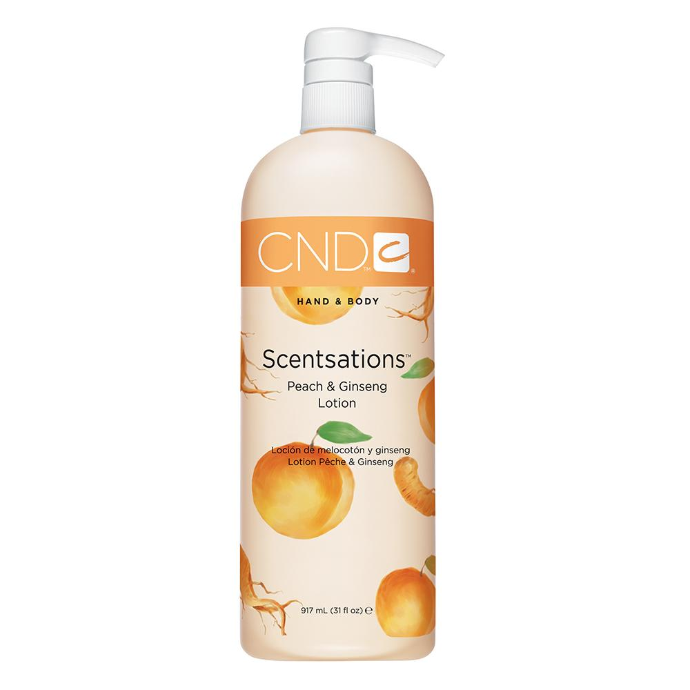 CND Hand & Body Scentsations Lotion - Peach & Ginseng (917ml)