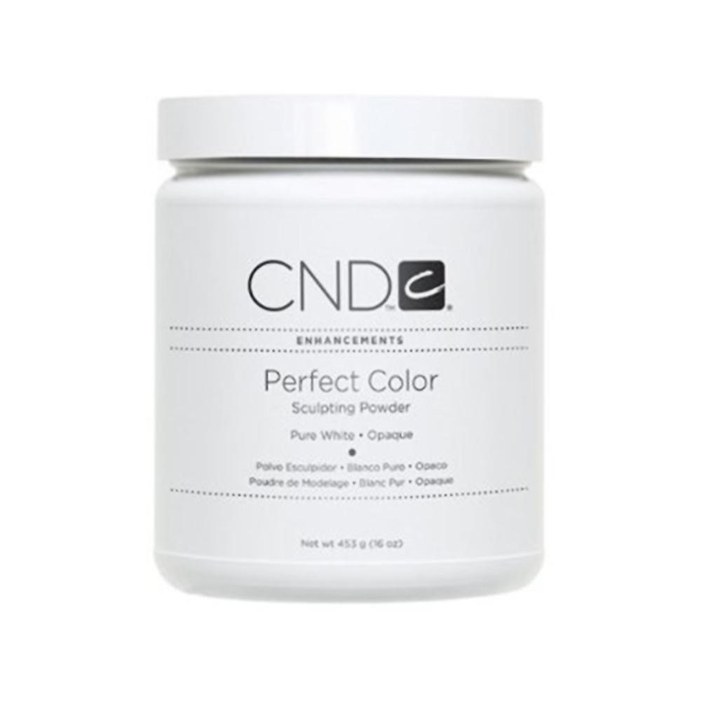 CND Perfect Color Sculpting Powder Pure White Opaque (453g)
