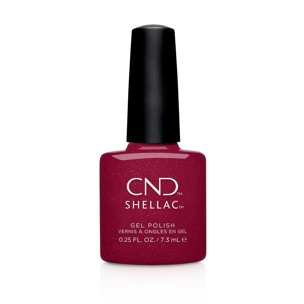 CND Shellac Rebellious Ruby (7.3ml)