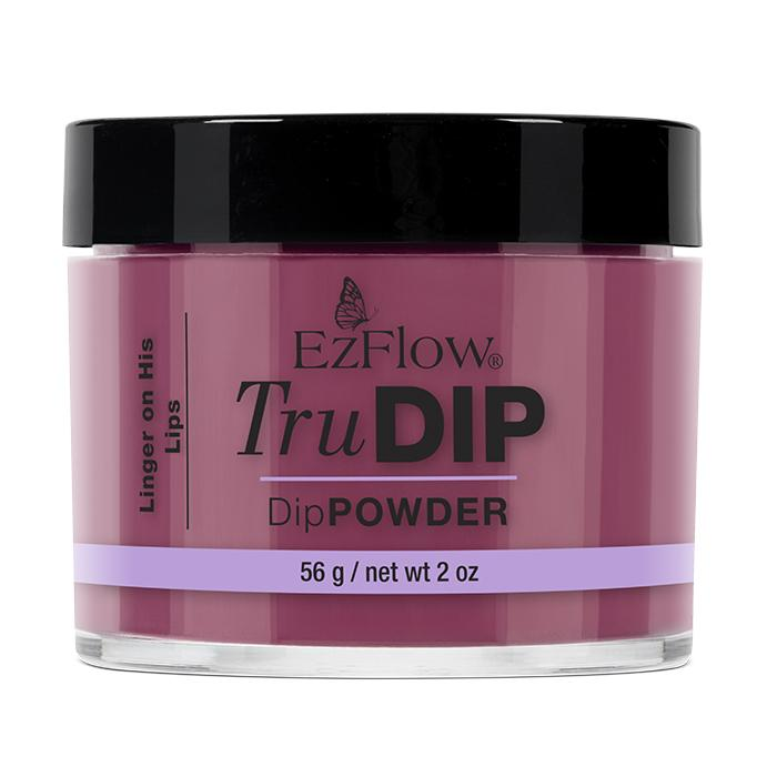 EzFlow TruDip Nail Dipping Powder - Linger On His Lips (56g)