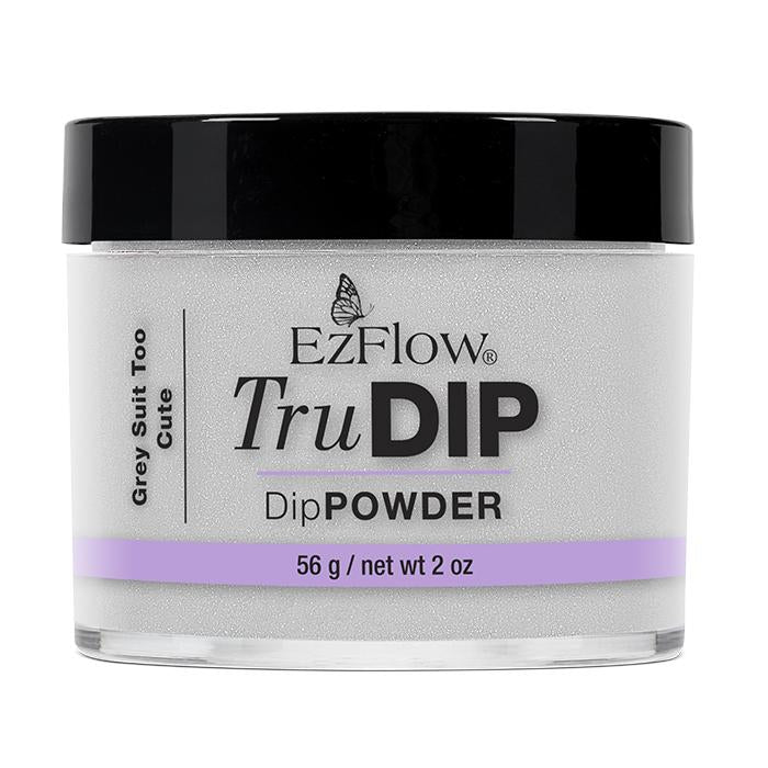 EzFlow TruDip Nail Dipping Powder - Grey Suit Too Cute (56g)