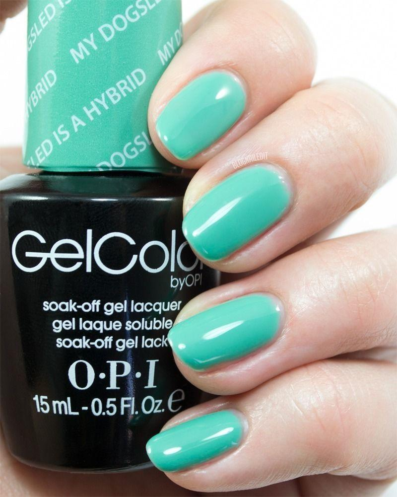 OPI GelColor GCN45 My Dogsled is a Hybrid 15ml