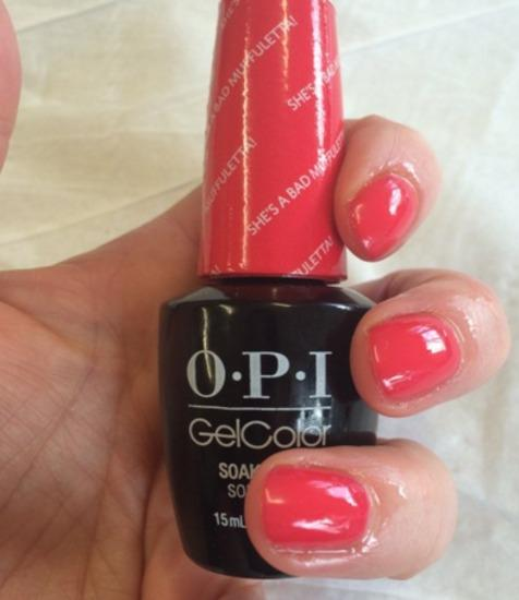 OPI GelColor GCN56 She's A Bad Muffuletta! 15ml
