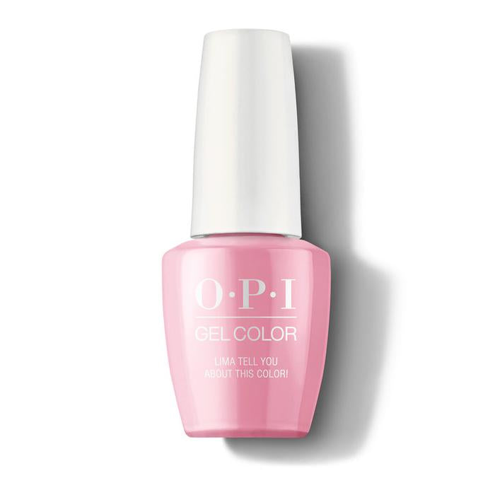 OPI GelColor GCP30 Lima Tell You About This Color! (15ml)