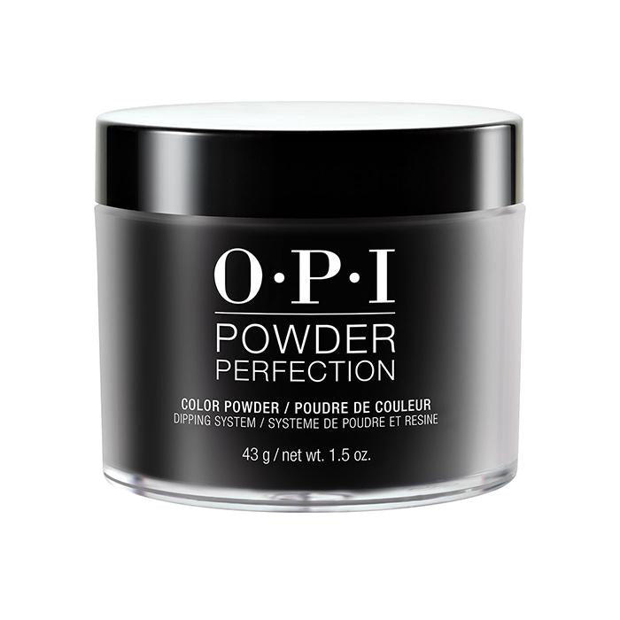 OPI Powder Perfection Dipping Powder - Black Onyx (43g)