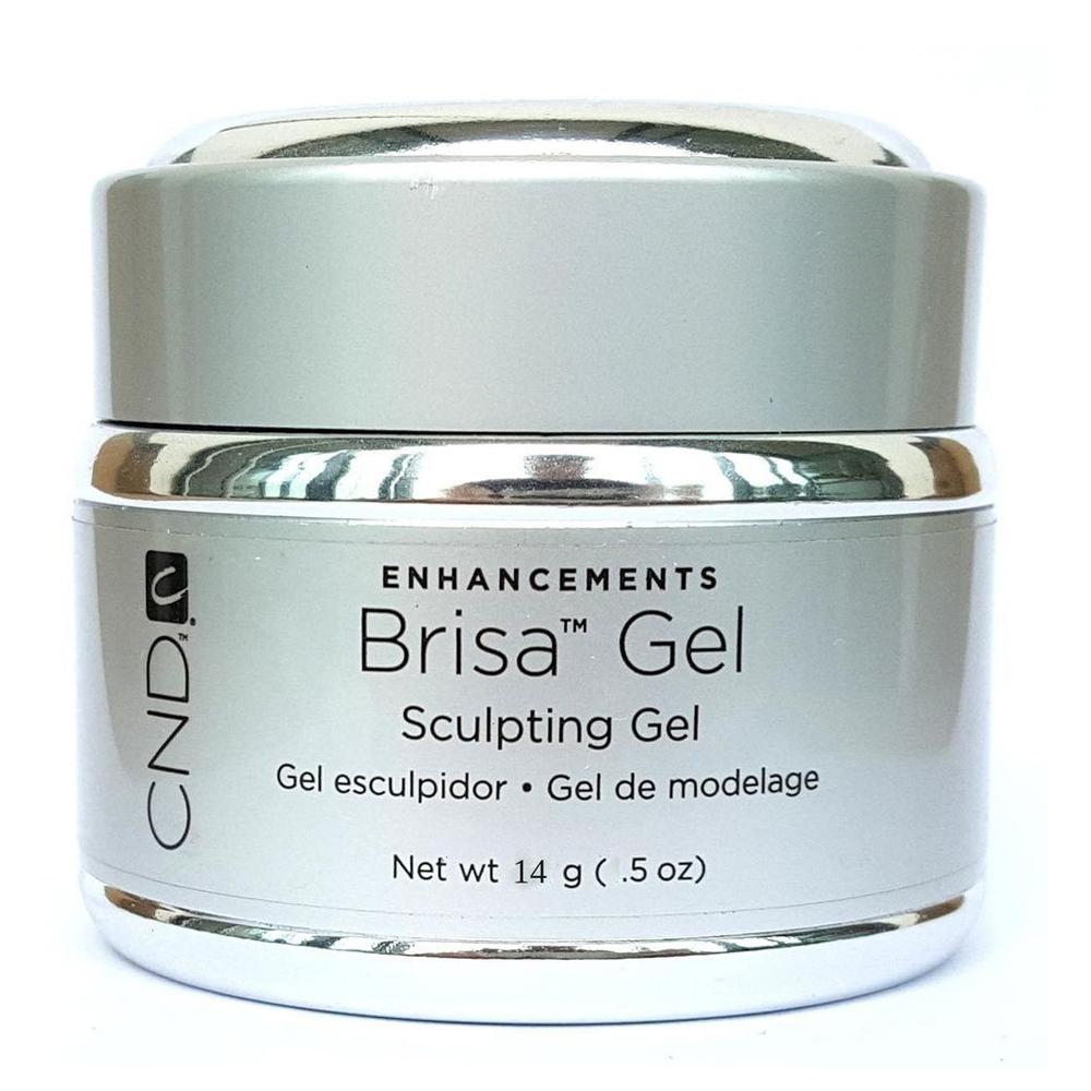 CND Enhancements Brisa Sculpting Gel (Cool Pink Opaque, 14g)