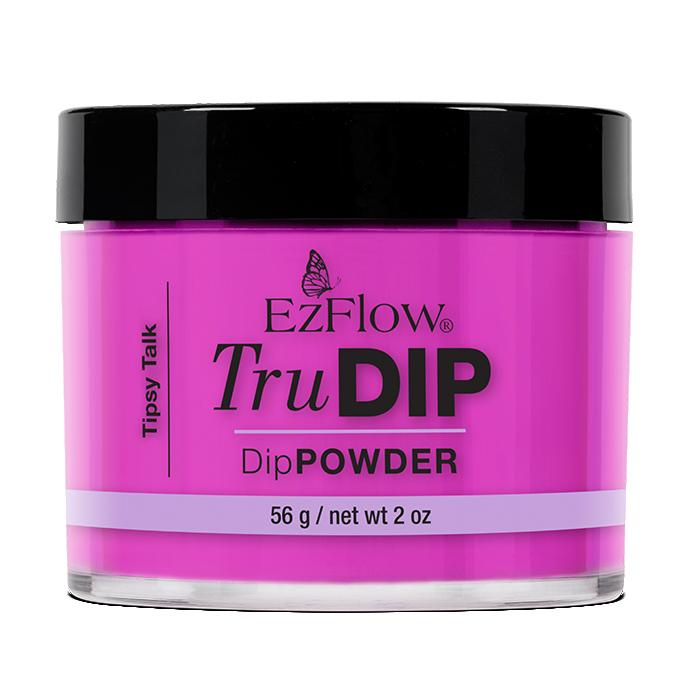 EzFlow TruDip Nail Dipping Powder - Tipsy Talk (56g)