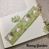 Cottage Garden Bookmarks / Handmade Fabric Bookmarks - Little Bun Designs UK